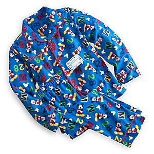 Mickey Mouse Clubhouse Pajama Gift Set for Boys - Personalizable