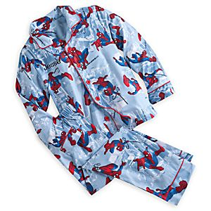 Spider-Man Pajama Gift Set for Boys - Personalizable