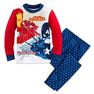 Marvels Captain America: Civil War PJ PALS for Boys