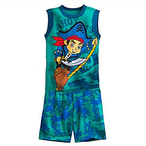 Captain Jake PJ PALS Short Set for Boys