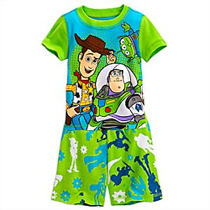 Toy Story PJ PALS Short Set for Boys