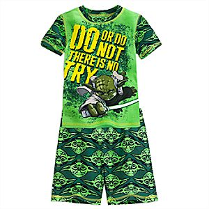 Yoda PJ PALS Short Set for Boys