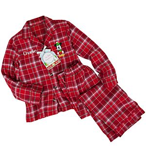 Personalizable Share the Magic Mickey Mouse Pajama Set for Boys -- 2-Pc.