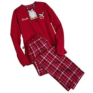 Personalizable Share the Magic Mickey Mouse Pajama Set for Women -- 2-Pc.