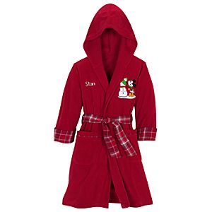 Personalizable Share the Magic Fleece Mickey Mouse Robe for Kids
