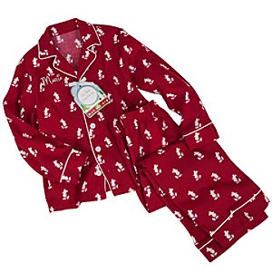 Personalizable Classic Mickey Pajama Set for Kids -- 2-Pc.