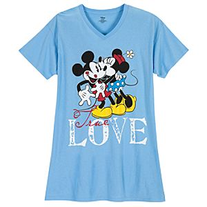 Minnie and Mickey Mouse Nightshirt for Women