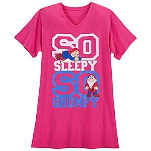 Sleepy and Grumpy Nightshirt for Women