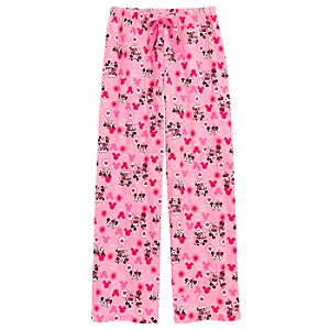 Minnie and Mickey Mouse Lounge Pants for Women