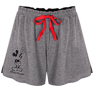 Mickey Mouse Sleep Shorts for Women