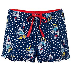 Minnie Mouse Sleep Shorts for Women
