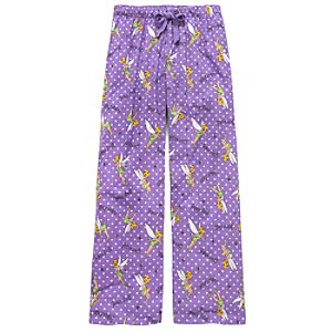 Purple Tinker Bell Lounge Pants for Women