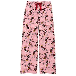 Pink Minnie Mouse Lounge Pants for Women