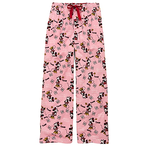 Pink Minnie Mouse Lounge Pants