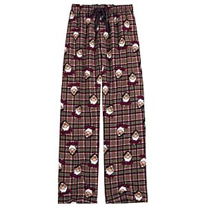 Plaid Grumpy Lounge Pants for Men
