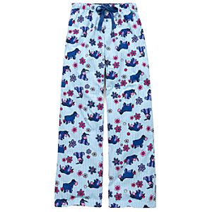 Striped Eeyore Lounge Pants for Women