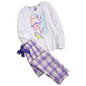 Tinker Bell Pajamas Gift Set for Women -- 2-Pc.