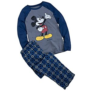 Mickey Mouse Pajamas Gift Set for Men -- 2-Pc.