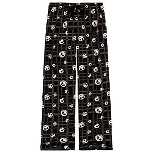 Plaid Jack Skellington Lounge Pants for Men