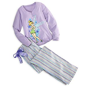 Tinker Bell Pajama Set for Women