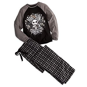 Jack Skellington Pajama Set for Men