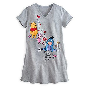 Winnie the Pooh and Pals Nightshirt for Women