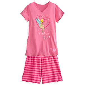 Tinker Bell Tee and Shorts Set for Women