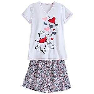 Winnie the Pooh Tee and Shorts Set for Women