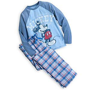 Mickey Mouse Pajama Gift Set for Men