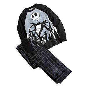 Jack Skellington Pajama Gift Set for Adults