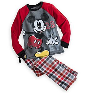 Mickey Mouse Pajama Set for Men - Holiday
