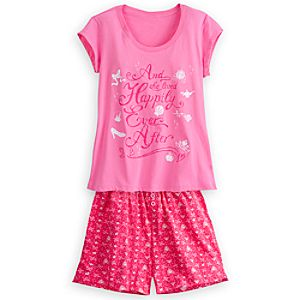 Disney Princess PJ Pal Shorts Set for Women