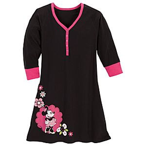 Raglan Minnie Mouse Nightshirt for Women