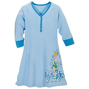 Raglan Tinker Bell Nightshirt for Women