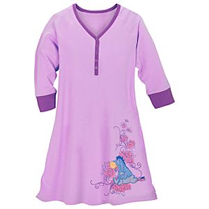 Raglan Eeyore Nightshirt for Women