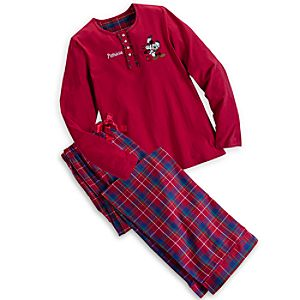Mickey and Minnie Mouse Pajama Set for Women - Personalizable