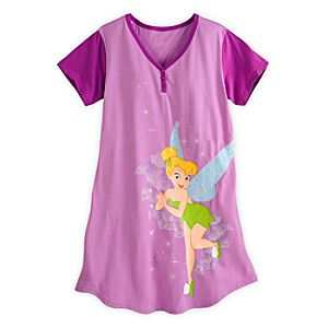 Tinker Bell Nightshirt for Women - Purple