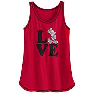 Love Mickey Mouse Sleep Tank for Women