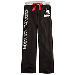 Official Member Mickey Mouse Lounge Pants for Women