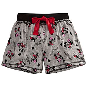 Mickey Mouse Club Sleep Shorts for Women