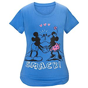 """Smack!"" Minnie and Mickey Mouse Night Shirt for Women"