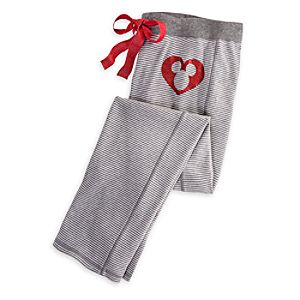Mickey Mouse Thermal Sleep Pants for Women