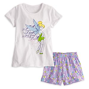 Tinker Bell Sleepwear Set for Women