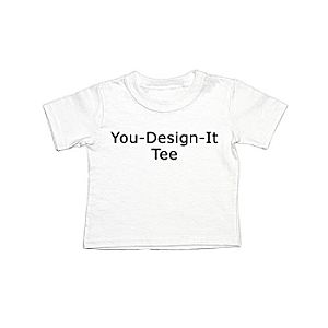 Customized Infant Single-Sided Tee