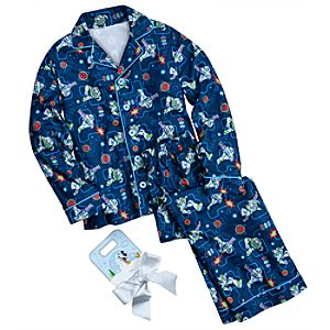 Buzz Lightyear Pajamas Gift Set for Boys -- 2-Pc.