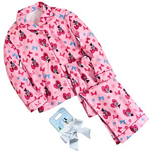 Sweetheart Minnie Mouse Pajamas Gift Set for Girls -- 2-Pc.