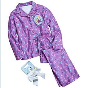 Rapunzel Pajamas Gift Set for Girls -- 2-Pc.