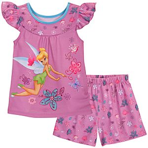 Tinker Bell Sleep Set for Girls -- 2-Pc.