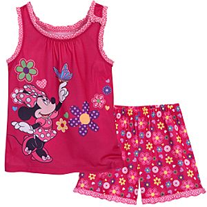 Minnie Mouse Sleep Set for Girls -- 2-Pc.