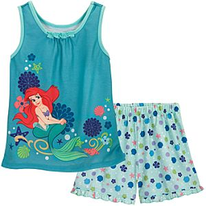 Ariel Sleep Set for Girls -- 2-Pc.